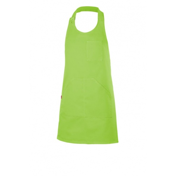 Comprar Delantal peto abotonado corto serie 404212 online barato Verde Lima