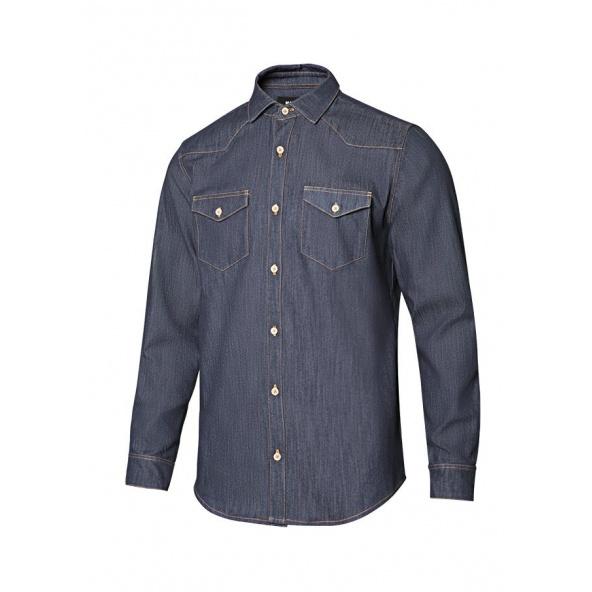 Comprar Camisa denim stretch manga larga hombre serie 405006s online barato 63