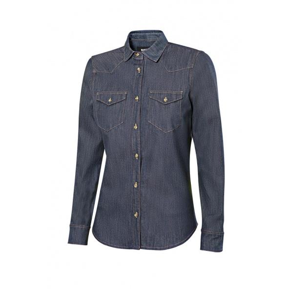 Comprar Camisa denim stretch manga larga mujer serie 405007s online barato 63