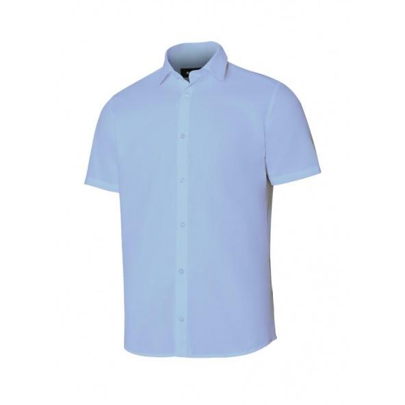 Comprar Camisa manga corta hombre serie 405008 online barato Celeste