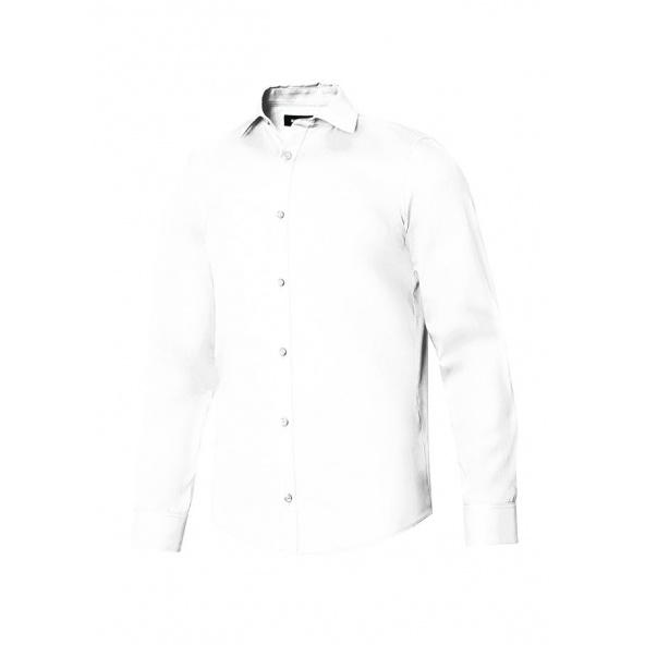 Comprar Camisa manga larga hombre serie 405009 online barato Blanco