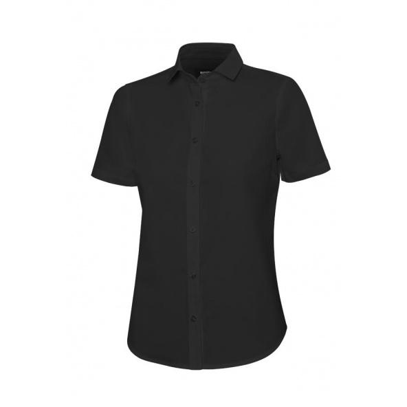 Comprar Camisa manga corta mujer serie 405010 online barato Negro