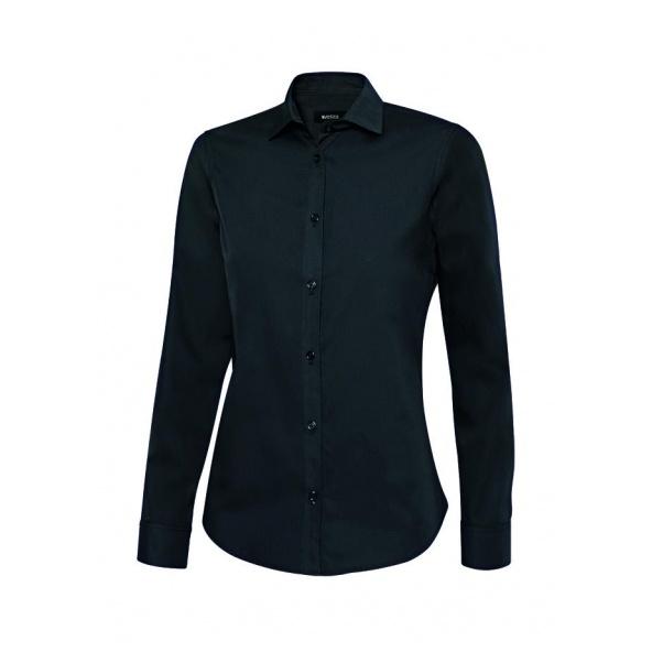 Comprar Camisa manga larga mujer serie 405011 online barato Negro