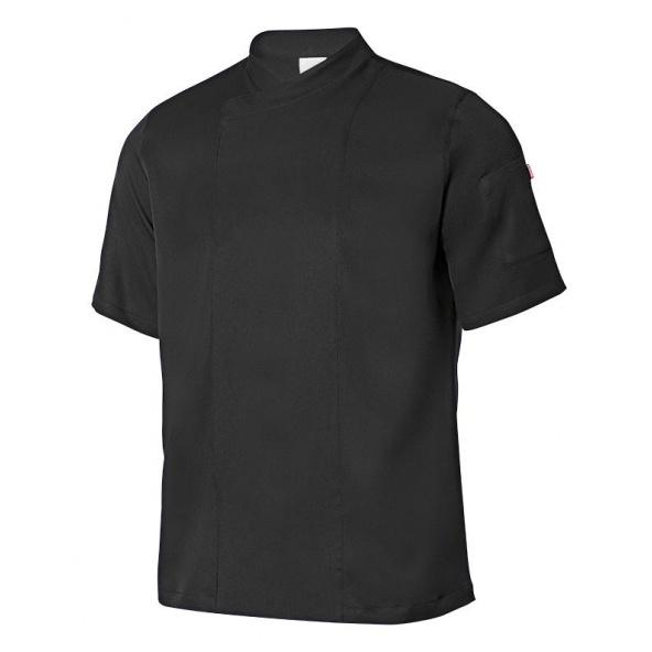 Comprar Chaqueta de cocina microfibra con tejido coolmax serie 405209 online barato Negro